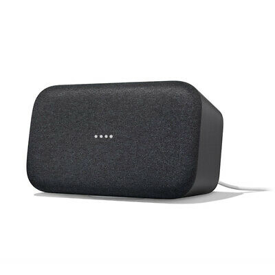 AU328 • Buy Google Home Max Smart Speaker & Home Assistant - Anthracite Black - [Au Stock]