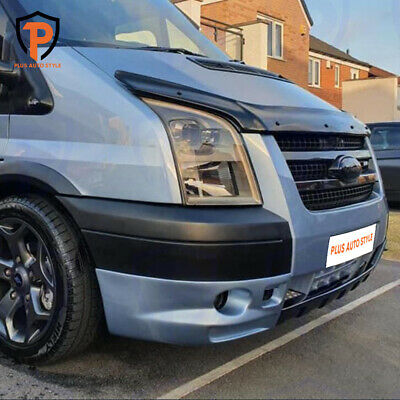 Ford Transit Mk7 07-13 Bonnet Guard Wind Bug Stone Deflector Protector Not Bra  • 41.90£