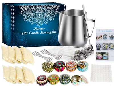 £19.99 • Buy Candle Making Kit DIY %100 Pure SOY Wax Kit Gift 2021