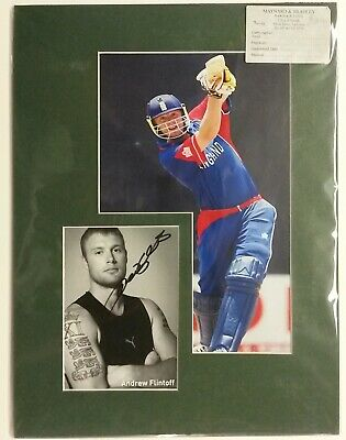 ANDREW, FLINTOFF Andrew,Flintoff, Hand Signed Autograph 2010 • 66.50£