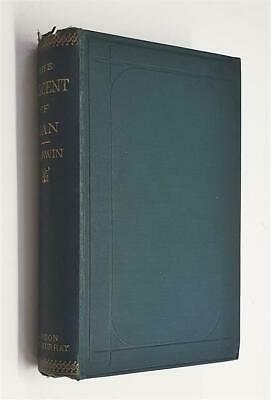£195 • Buy CHARLES DARWIN The Descent Of Man And Selection In Relation To Sex (1887)