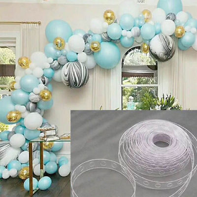$1.31 • Buy New 5m Balloon Chain Tape Arch Connect Strip For Wedding Birthday Party Decor