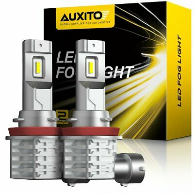 AU29.99 • Buy AUXITO H8 H11 H9 LED Front Fog Driving Light 6500K 4000LM White Bulb DRL Canbus