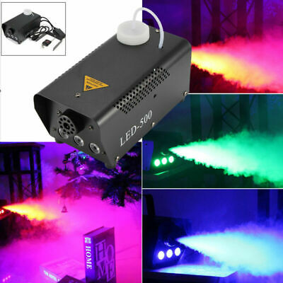 Smoke Machine Fog Haze Effect W/Wireless Remote Control Halloween DJ Disco Party • 23.98£