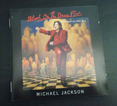 Cd Album - Michael Jackson - Blood On The Dance Floor - History In The Mix • 1£
