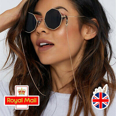 Glasses Neck Chain Lanyard Metal Sunglasses Strap Reading Cord Spectacles Holder • 2.99£