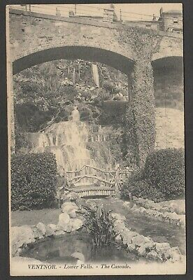 Postcard Ventnor On Isle Of Wight The Lower Falls The Cascade By Levy No Number • 4.99£