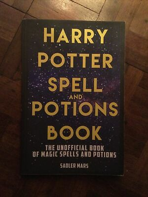 Harry Potter Spell & Potions Book: The Unofficial Book Of Magic Spells & Potions • 6.99£