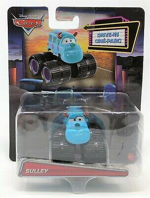 Disney Cars Sulley Monsters Inc Drive-In Character Mini Diecast Vehicle Car Toy • 10.99£