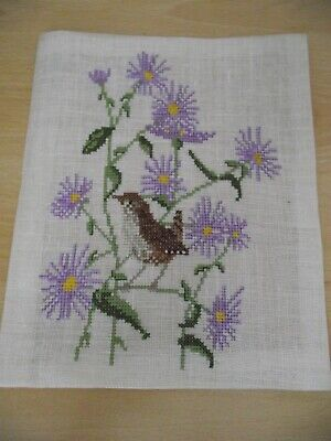 Vintage Cross Stitch Finished Picture/decorative Pictures/frames/collectable • 0.99£