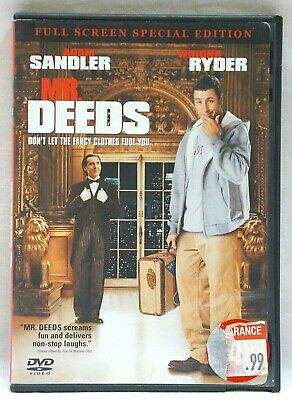 $4 • Buy Mr. Deeds [Full Screen Special Edition]  DVD