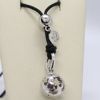 Necklace With Silver Pendant 925 With Mexican Bola, Roberto Giannotti, SFA30 • 60.03£