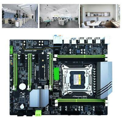 AU159.22 • Buy X79T LGA 2011 CPU Computer Mainboard DDR3 Desktop PC Motherboard With 4 Channel
