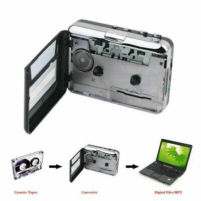 £15.89 • Buy USB Cassette Capture Tape To PC USB MP3 Converter Adapter Audio Music Player