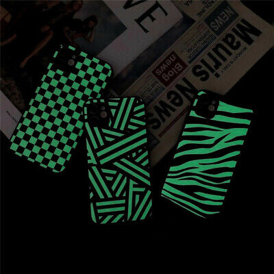 For IPhone 7 8 Plus XR XS 11 12 Pro Max Phone Cover Case Soft Luminous Zebra UK • 4.11£