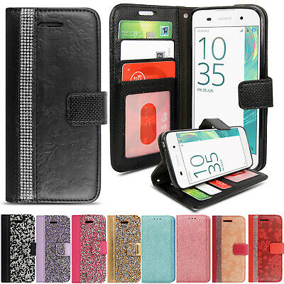 AU5.32 • Buy Case For Sony Xperia L2 XZ2 Compact XZ E5 Z5 Luxury Flip Wallet Leather Cover