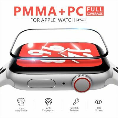 AU4.25 • Buy For Apple Watch 6 5 4 3 2 SE Tempered Glass Full Screen Protector 38/42/40/44mm