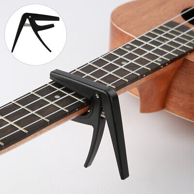 AU9.65 • Buy Ukulele Tuner Capo Clamp Quick Clip Guitar Musical Instrument Accessories Black