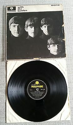 £40 • Buy The Beatles - With The Beatles - LARGE MONO - 1963- PMC 1206 - YEX 447/448 - 1N
