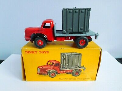 £120 • Buy Vintage Boxed Dinky French Berliet Container Truck