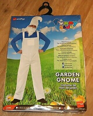 Garden Gnome Fancy Dress X Large 48  Chest Costume Stag Night With Beard • 8.95£