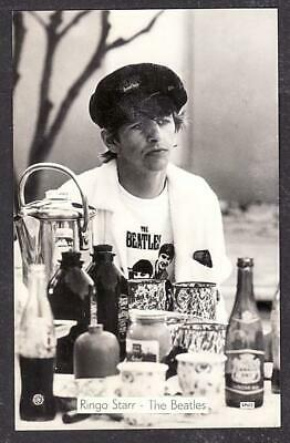 CONTEMPORARY BEATLES REAL PHOTO POSTCARD SIZE RINGO STARR C1964 • 9.99£