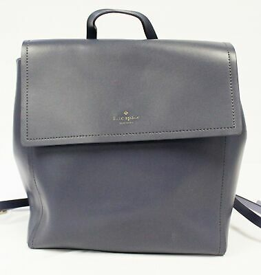$ CDN140.34 • Buy Kate Spade Women's Somerville Road Megyn Leather Backpack KB8 Blue Medium