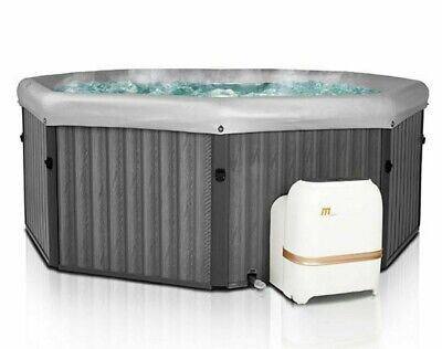 MSpa Tuscany Quick-Heating Hot Tub With Filter Pack & Cover Bundle, 6 Person  • 1,195.95£