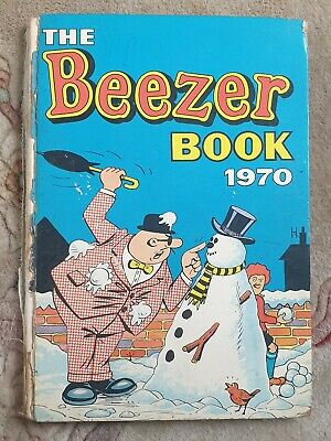VINTAGE The Beezer Book 1970 Annual • 0.99£