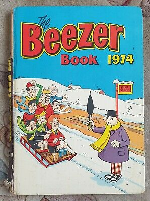 VINTAGE The Beezer Book 1974 Annual • 0.99£