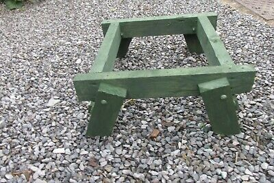 Budget Folding Legs Stand For British National  Bee Hive • 22£