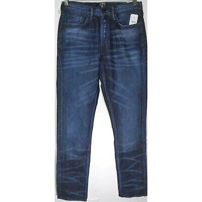 $178 NEW PRPS - Demon Slim Straight Leg Jeans In Indigo - Size 32 • 50.06£