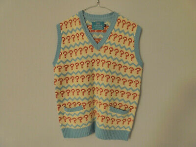 Lovarzi Seventh Doctor Jumper - Size Small (Very Good, Officially Licensed) • 39.99£