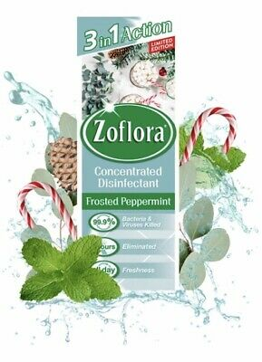ZOFLORA Multi-purpose Antibacterial Disinfectant -Frosted Peppermint 120ml • 5£