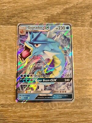 AU5 • Buy Pokemon Card Gyarados GX 16/68 Hidden Fates Ultra Rare Mint