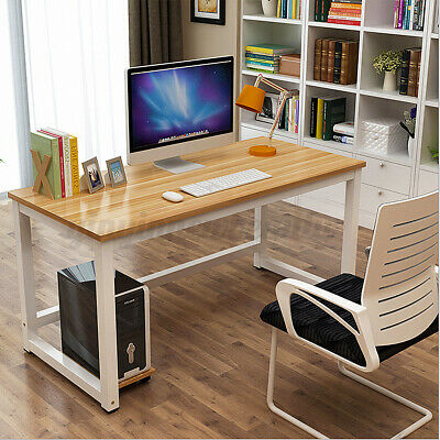 AU76.13 • Buy Computer Office Study Desk Student Laptop Table Workstation BookShelf Furniture