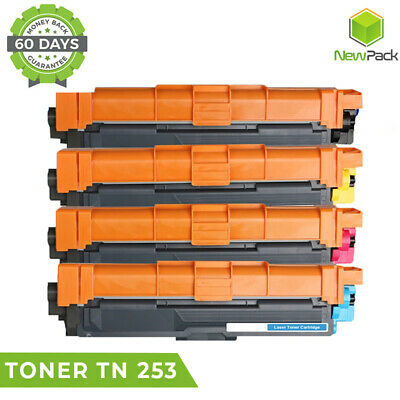 AU74.95 • Buy 4x TN253 TN257 Toner For Brother DCP-L3510CDW MFC-L3750CDW MFC-L3770CDW L3770CDW