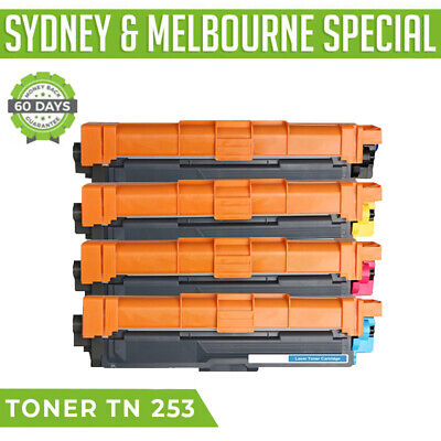 AU69.95 • Buy TN253 TN257 Toner For Brother DCP-L3510CDW MFC-L3750CDW MFC-L3770CDW 4 Pcs Pack