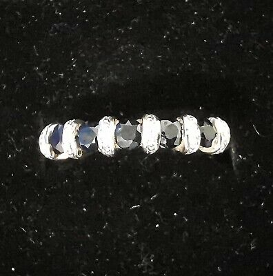 9 Ct Gold Sapphire And Diamond Ring • 103£