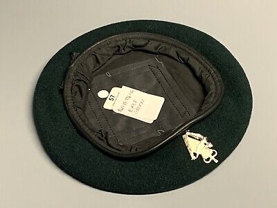 NEW British Army-Issue Ulster Defence Regiment Beret & Badge. Size 57cm. UDR. • 17.99£