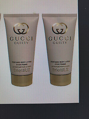 Gucci Guilty Revolution Perfumed Body Lotion Femme 2 X 50ml Tubes 100ml • 14.75£