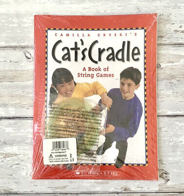 £8.55 • Buy Cats Cradle Book Of String Games Childrens New In Plastic