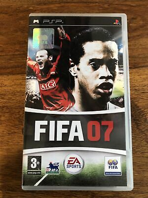 PSP Playstation Fifa 2007 Game  • 0.99£