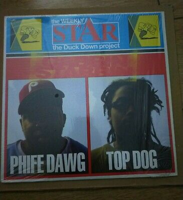 Phife Dawg & Top Dog Cabbin Stabbin Vinyl Single Hip Hop Rap • 1.25£