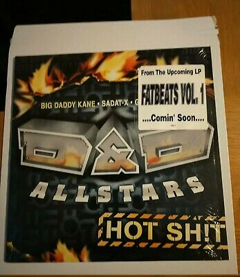 D&D All-stars Hot Sh!t Vinyl Single Hip Hop Rap • 1.75£