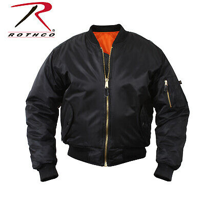 $56.99 • Buy Rothco Concealed Carry MA-1 Flight Jacket - Black