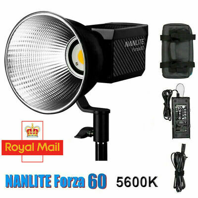 Nanguang NANLITE Forza 60WCOB LED Photography Light  Studio Camera Video Light • 185.99£