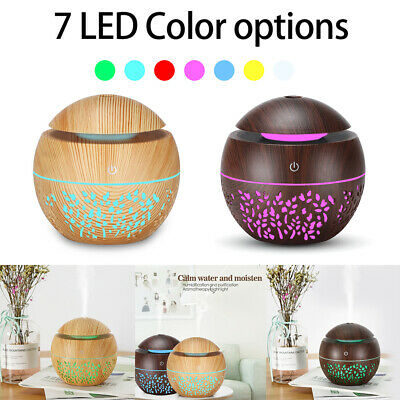 AU21.99 • Buy Aroma Aromatherapy Diffuser LED Oil Ultrasonic Air Humidifier Purifier Home Car