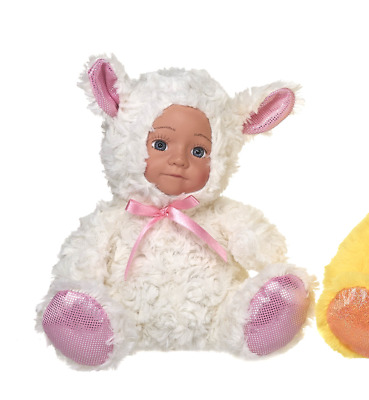 New Easter Doll In Lamb Outfit Soft Plush Toy • 11.99£