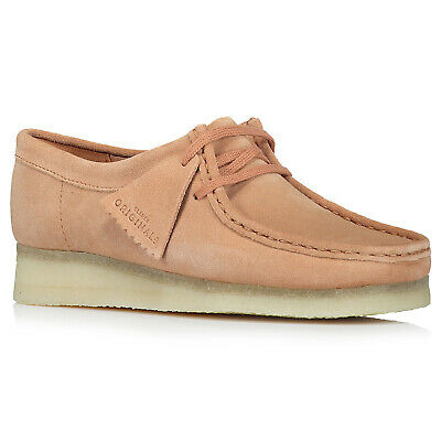 £109.64 • Buy Clarks Originals Womens Shoes Wallabee Casual Lace-Up Ankle Suede Leather